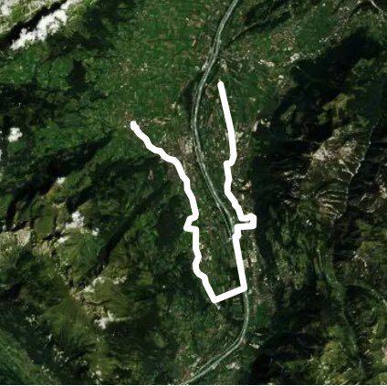 ルート サイクルトレイル - グラブス, ザンクト・ガレン州, スイス | Pacer