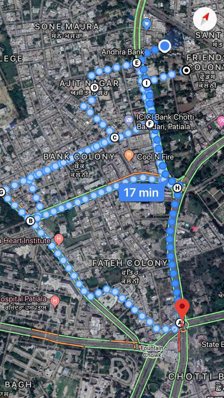 Patiala evng walk - Punjab, India | Pacer on map of indian subcontinent, map of punjab before 1947, map of indian sindh, map of punjab region, map of indian asia,