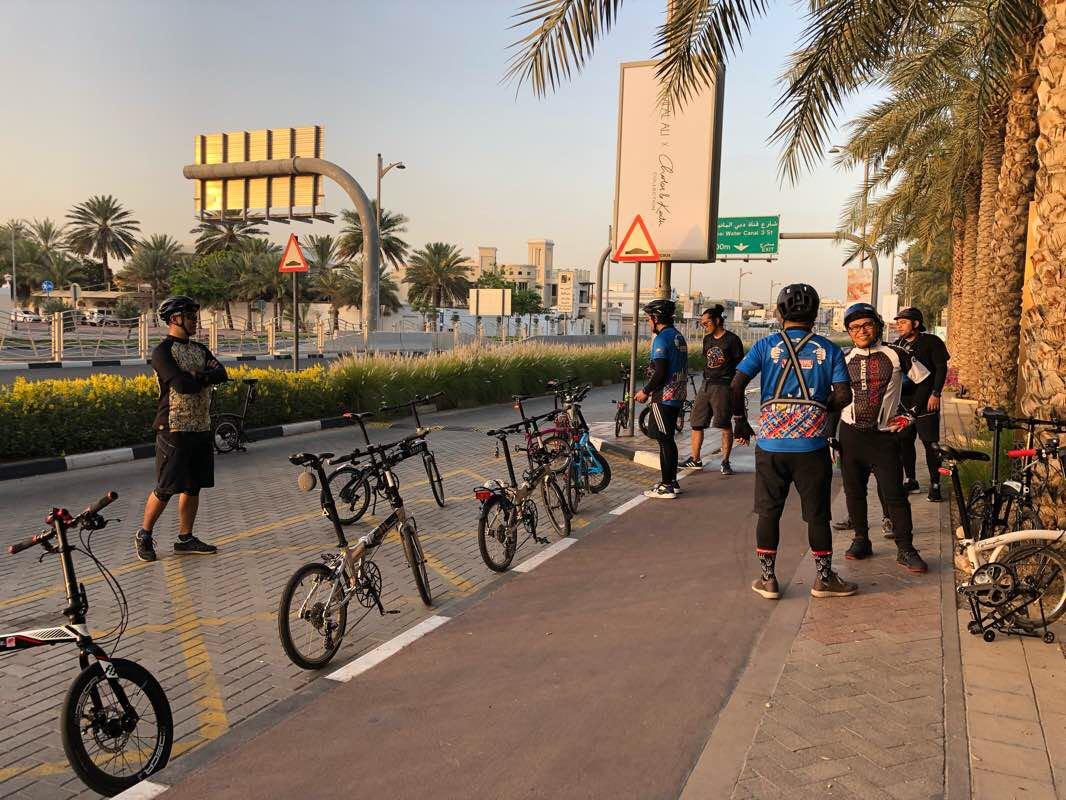 BurDubai to JBR - Emirate of Dubai, United Arab Emirates   Pacer