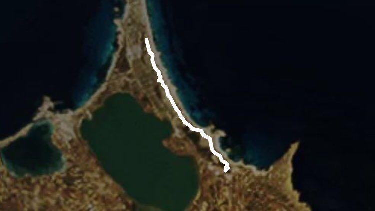 Cartina Geografica Spagna E Formentera.Imbrogliare Percorso A Piedi Es Pujols Formentera Spagna