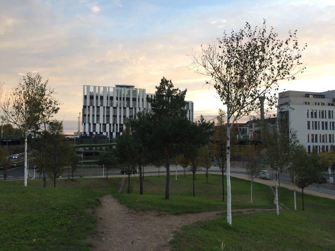 Dusseldorf Parks And New Residential Areas Walk Dusseldorf North Rhine Westphalia Germany Pacer