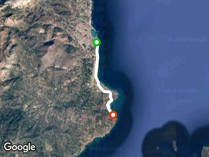 Chios-Carfas Walk Trail - North Aegean Region, Greece | Pacer