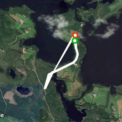 アナスタシア 散歩道 - Kitee, 北カルヤラ県, フィンランド | Pacer